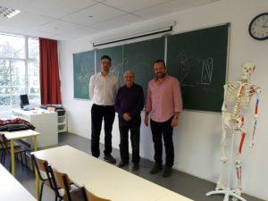 visite des enseignants de Comillas Madrid à l'IFMK Assas