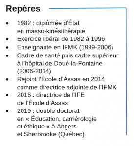 au service de la rééducation Danièle Maille